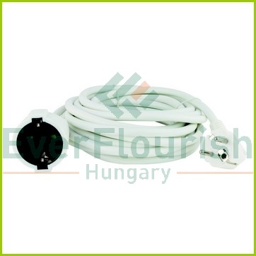 Extension cable,  5m, H05VV-F 3G1.5mm², white 0016050114