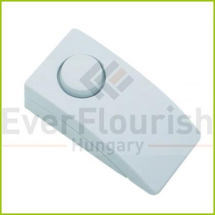 Csengő nyomógomb, fehér 0021811