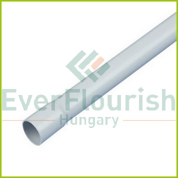 Iso-PVC cső, szürke, EN20, 2m 0031512036104