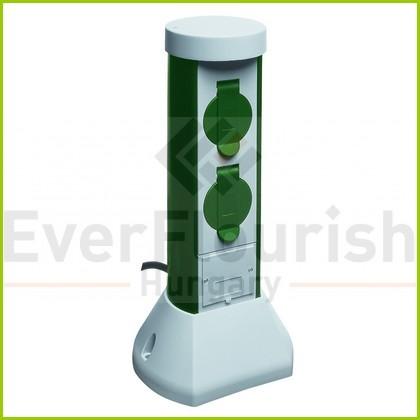 Kerti energiaoszlop 2 dugaljjal, GreenCraft 0068200021