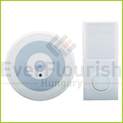 Csengő, vezeték nélküli, dugaljba dugható irányfénnyel 0082180103