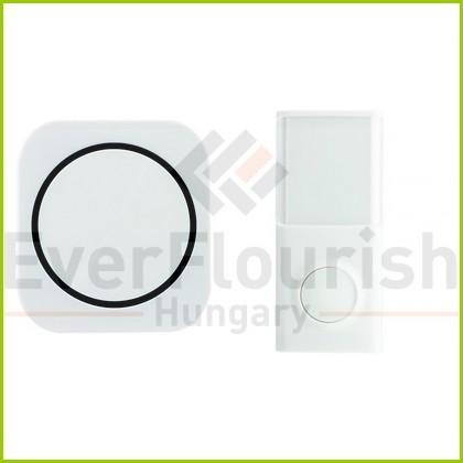 Csengő, vezeték nélküli, 50m,fehér 0082350103