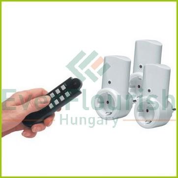 Távírányítós szett, 1 távírányító+2dugalj+1 dimm dugalj 008346