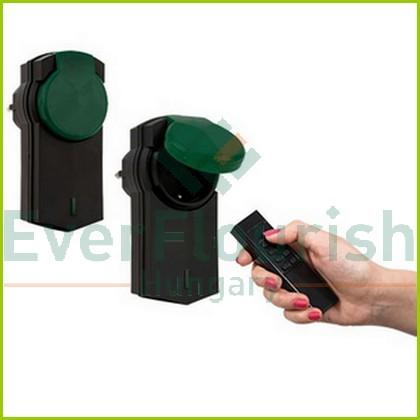 Távirányítós készlet, 1 távirányító + 2 dugalj, 2x2300W, kültéri  00836914 (4517H)