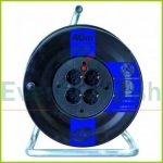 Cable reel plastic, 4way, 40m 0088441