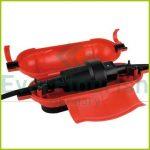 Biztonsági doboz, pipadugókhoz, piros 02175