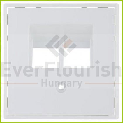Optima ISDN fedlap fehér 0221670106