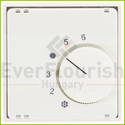 Optima termosztát fedlap fehér 0221890106