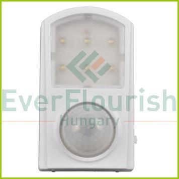 Irányfény LED, mozgásérzékelővel, 1W, 02234