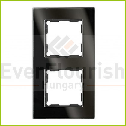 Optima keret kettes üveg fekete  0254827202