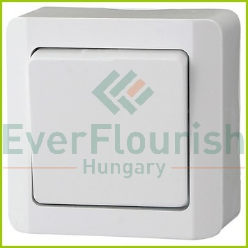 Nova surface mounted change-over switch, white 0325H