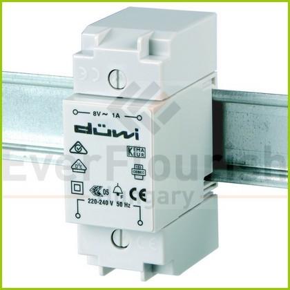 Csengő transzformátor DIN sínre 0504191555