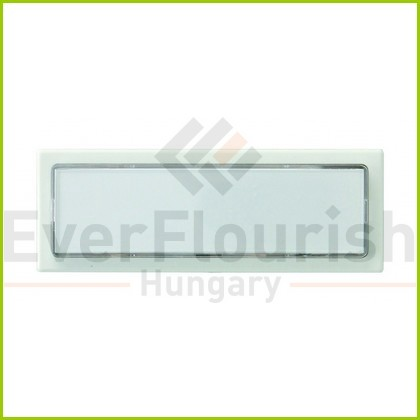 Csengő nyomógomb névtáblával 1-es fehér világítással 0504220555