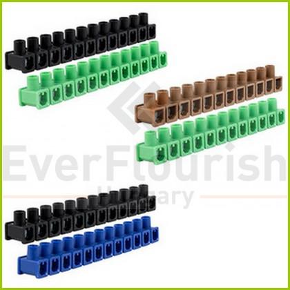 Sorkapocs 1 csavaros 2.5mm 12p 2db fekete bliszter 0508400555