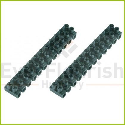 Sorkapocs 2 csavaros 0.5-4.0 mm 12p 2db fekete bliszter 0508410555