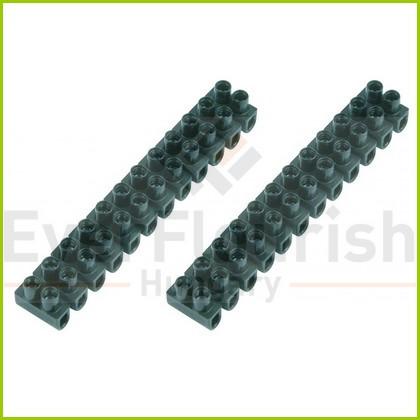 Sorkapocs 2 csavaros 6.0 mm 12p 2db fekete bliszter 0508415555
