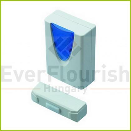 Csengő, vezeték nélküli, 30m, mini fehér 0514903555
