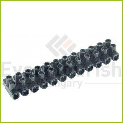 Sorkapocs 2 csavaros 0.75-4/6 mm 12p fekete 0518455555