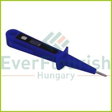 Feszültségvizsgáló glimmlámpával, kék 0639H