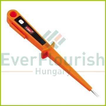 Feszültségvizsgáló glimmlámpával, narancssárga 0640H