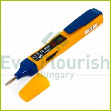 Feszültségvizsgáló érintésmentes méréshez, sárga 0641H