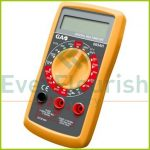 Digital multimeter with acoustic continuity tester and signal output 0654H