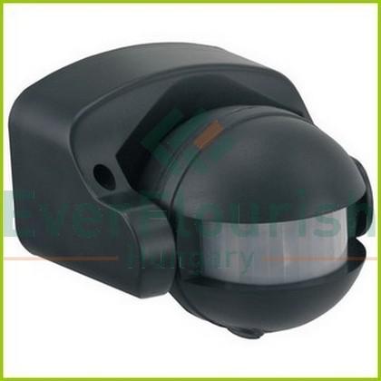 IR motion detector 180°, black, IP44  0687H