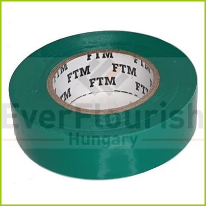 Szigetelőszalag, 19mm x 20m, zöld 0696H