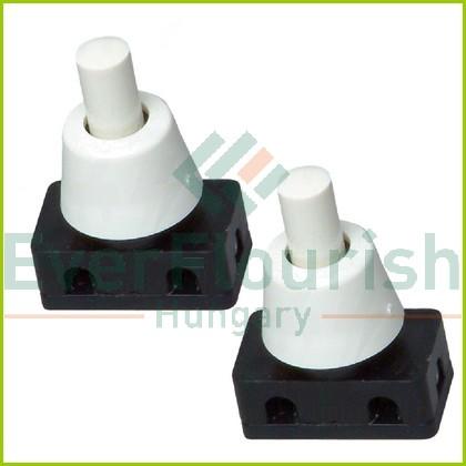 Beépíthető nyomókapcsoló, fehér, 2db 0730H