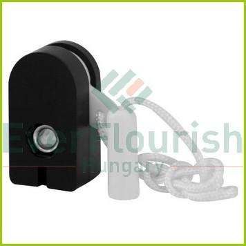 Beépíthető húzókapcsoló, fekete, 2db 0753H