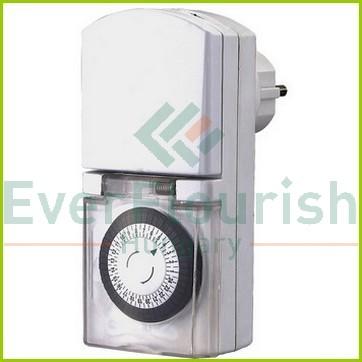 Időkapcsoló, mechanikus, napi, IP44 30 perc 0763H