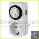Időkapcsoló, mechanikus, napi, mini, 30 perc 0765H