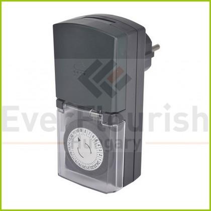 Időkapcsoló, mechanikus, napi, IP44 30 perc 0768H
