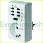 Időkapcsoló, digitális, visszaszámláló funkcióval, 1800W  0827H