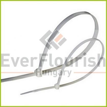 Kábelkötegelő, készlet, fehér, 25db-os 08290
