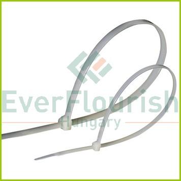 Kábelkötegelő, 380x4.8mm, fehér, 25db 08293