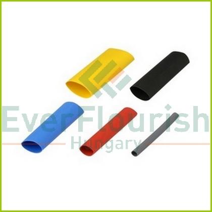Zsugorcső készlet, 4cm, színes, 55db/cs. 08301
