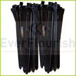 Kábelkötegelő, oldható, 200x7.6mm, fekete, 25db 08305