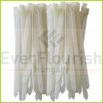 Kábelkötegelő, többször használható, 200x7.6mm, fehér, 25db 08315