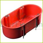 Cavity wall assembly box 2way, 135x65mm, 45mm deep 18352