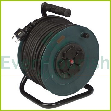 Cable reel, plastic, 40m, 4way 3x1.0 H05RR-F 19822