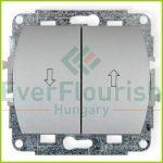 TREND  redőnykapcsoló, ezüst 20663