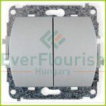 TREND  csillárkapcsoló jelzőfénnyel, ezüst 20683