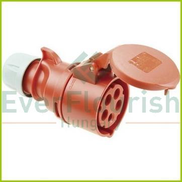CEE lengőaljzat 5 pólusú 400V 16A 2205H