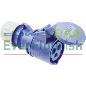 CEE-CARA connector 3pin 16A 230V 2217H