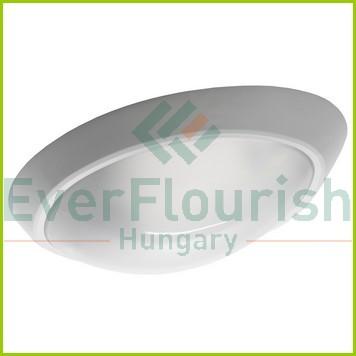 """Lámpatest """"ELIPTIK"""" E27, 60W, műanyag fehér búrával 25277"""