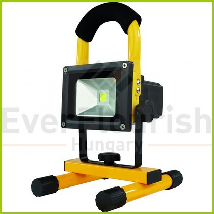LED floodlight, w. stand, rechargeable 10W 600lm 3.7V 2200mAh 2707211060