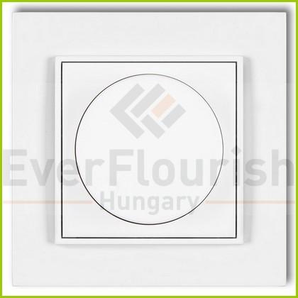 MINI fényerőszabályzó kerettel fehér 4106H