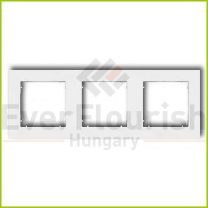 MINI hármas keret fehér 4112H