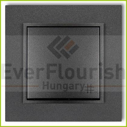 MINI keresztkapcsoló kerettel metál grafit 4118H